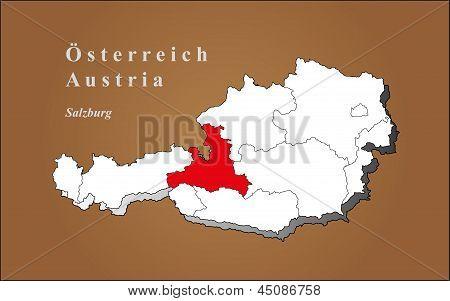 Austria Salzburg Highlighted