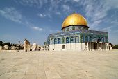 picture of mosk  - The dome of the rock with it - JPG