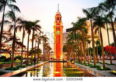 Clock Tower In Hk