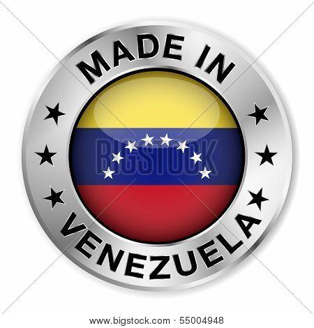 Made In Venezuela Silver Badge