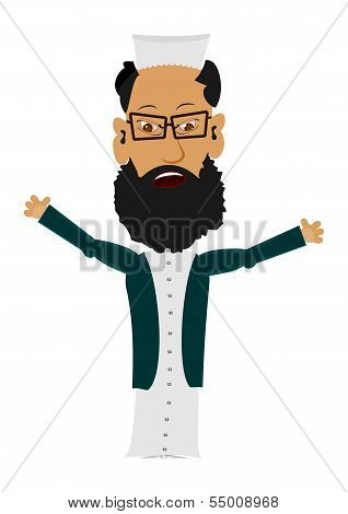 Cartoon Imam