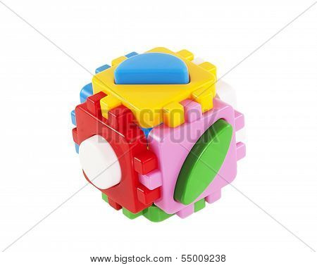 Childrens Plastic Shape Sorter