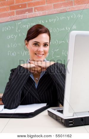 Lovely Female Teacher