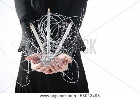 net in your hands