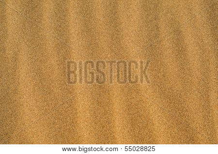 closeup of a pile of sand of a beach or a desert