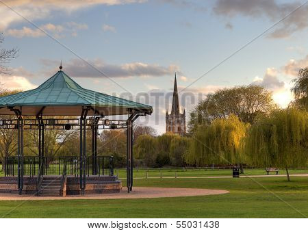 Bandstand at Stratford Upon Avon