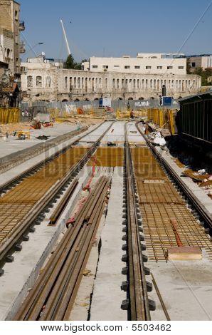 Jerusalem Tram Line