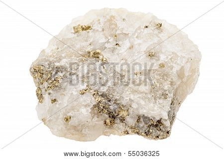 Fools Gold, Pyrite, In Quartz