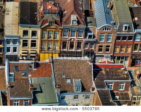 Utrecht City Areal View