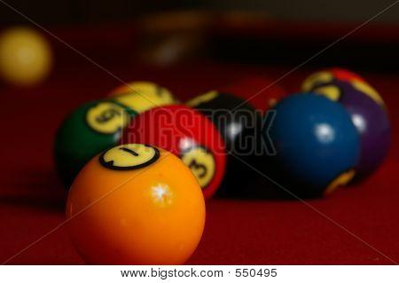 Billiards Closeup