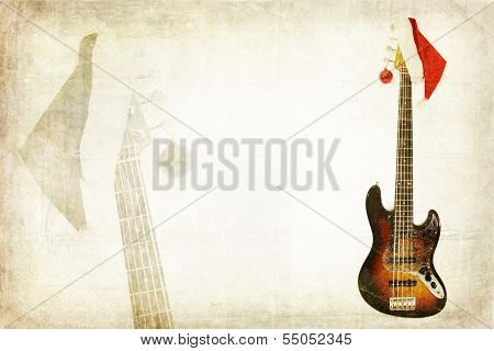 Grunge Bass Guitar