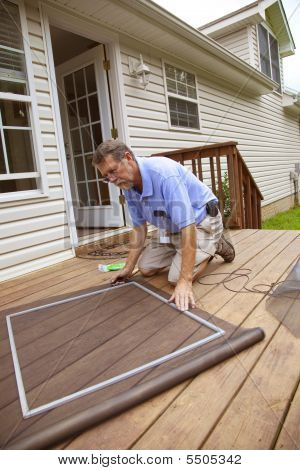 Active Contractor Doing Repairs