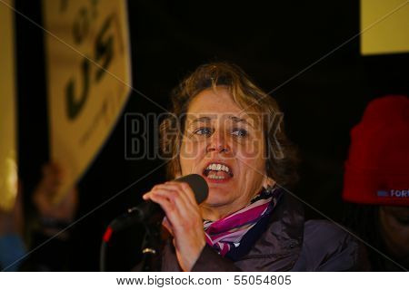 Mary Kay Henry, President of the SEIU