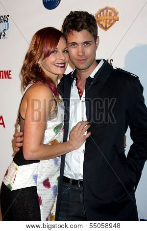 LOS ANGELES - DEC 4:  Amy Paffrath, Drew Seeley at the Junior Hollywood Radio & Television 2013 Society Holiday Party at Lure Nightclub on December 4, 2013 in Los Angeles, CA