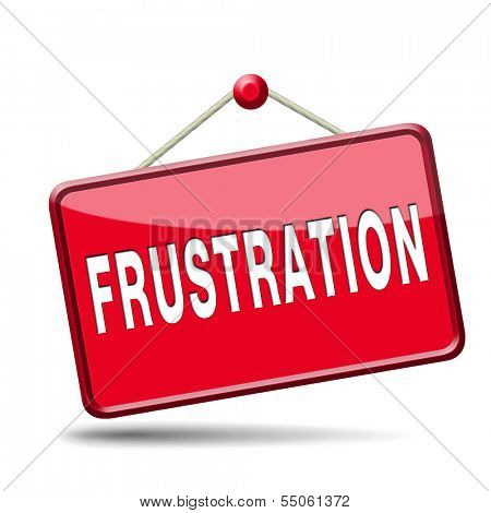 frustration frustrated and angry getting upset