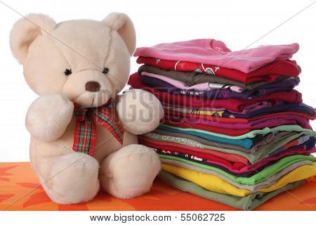 Ironed Children's Clothes