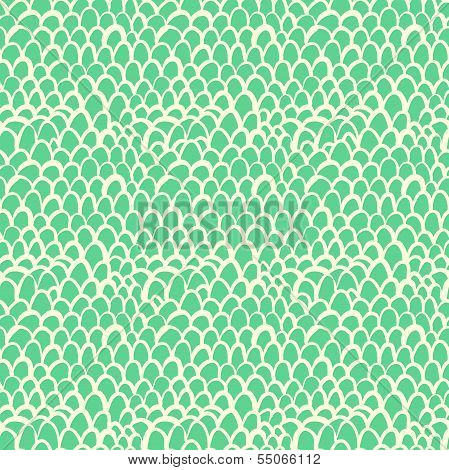 Nautical pattern inspired by tropical fish skin