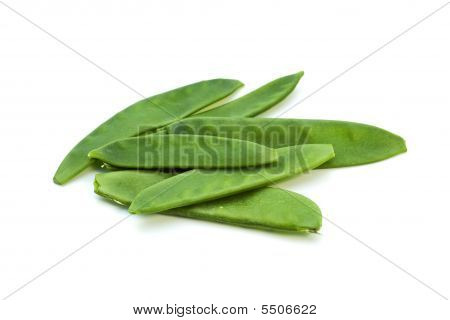 Snowpeas Isolated