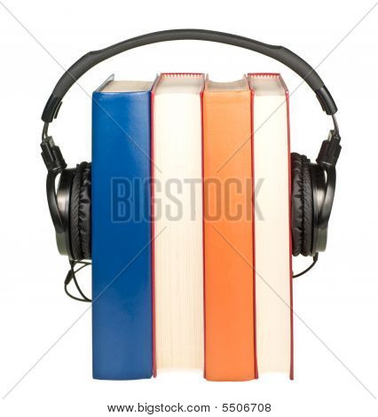 Books With  Headphones
