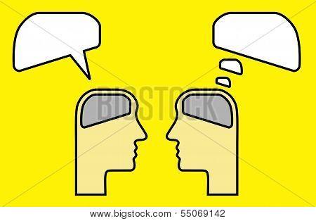 Thinking And Speaking Using Brain