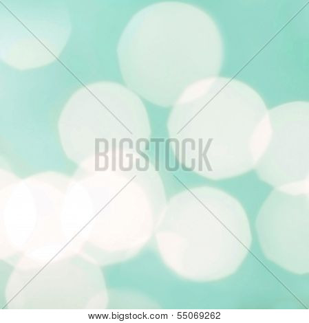 Abstract Natural Blur Defocussed Background With Bokeh, Soft Focus, Greeting Holiday Card, Festive F