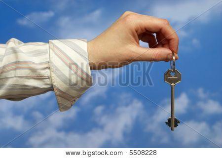 Holding A Key