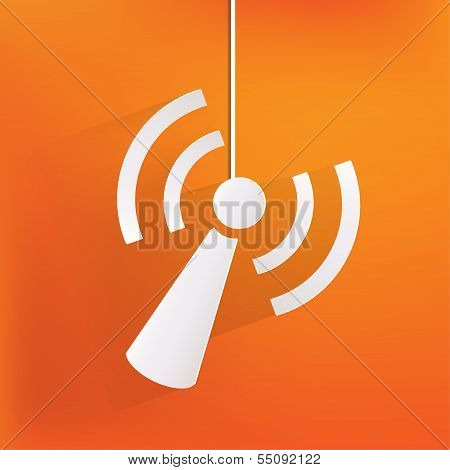 Wireless web icon