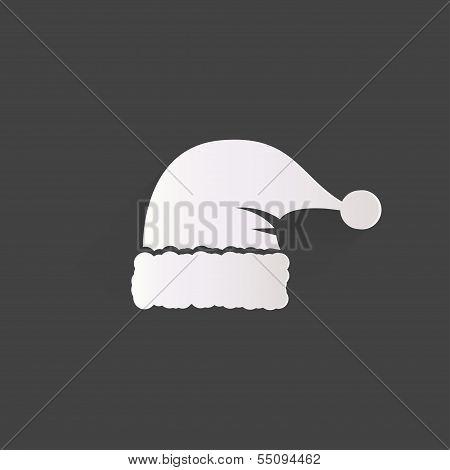 Santa cap icon