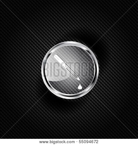 Pipette web icon