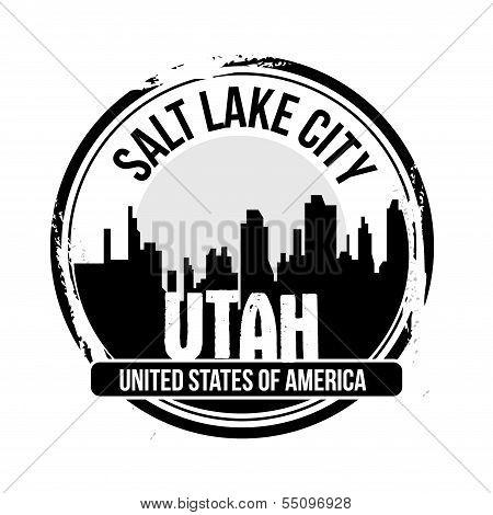 stamp Salt Lake City