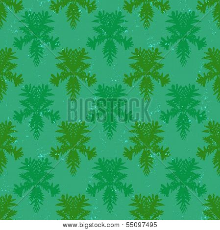 Simple, elegant block printed vector pattern