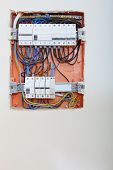 image of contactor  - Electrical installation - JPG