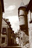 Medieval Lane Aubusson poster