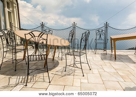 Luxurious Set Of Chairs And Table