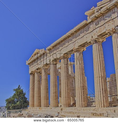 Parthenon ancient temple, Athens Greece