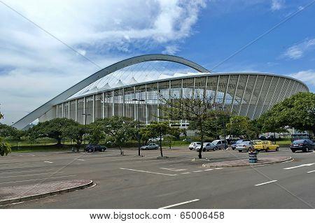 Moses Mabhida soccer stadium in Durban