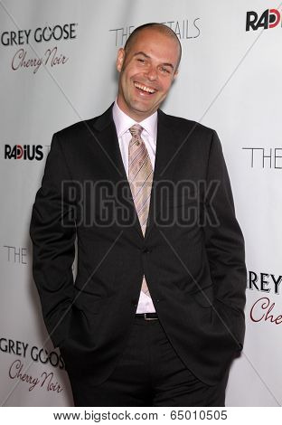 LOS ANGELES - OCT 29:  Jacob Aaron Estes arrives to the