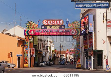 Little India In Malacca