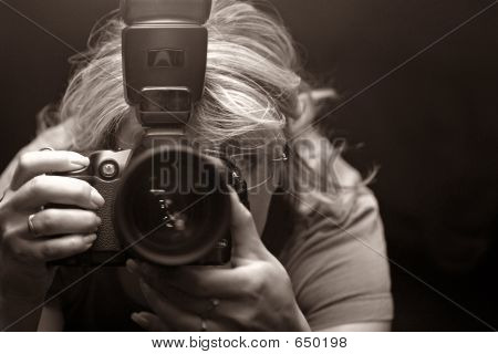 The Photographer - Woman