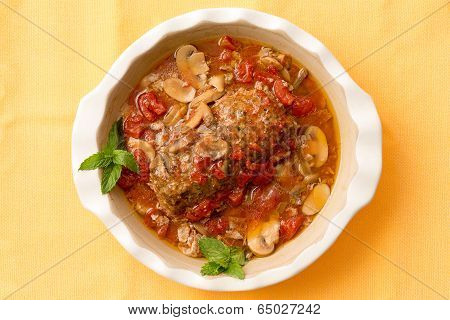 Delicious Savory Meatloaf In A Casserole