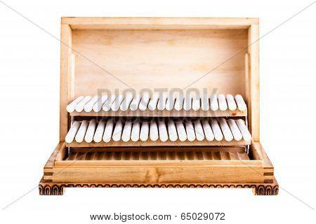 Wooden Cigarette Box