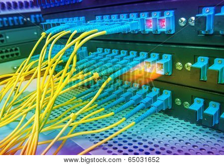fiber optical Network Server