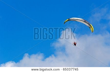 Gliding Among The Clouds