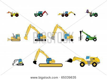 Children's toys digger