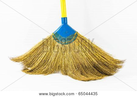 Yellow Handled Broom