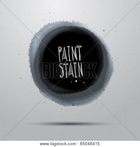 Vector grunge paint abstract background
