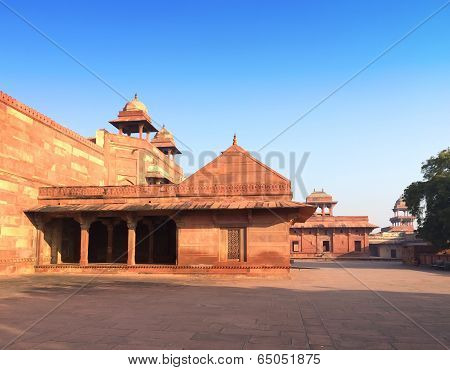 India. The thrown city of Fatehpur Sikri.