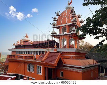 India. Goa. Hanuman temple.