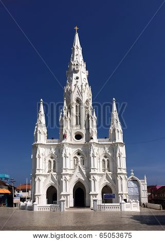 Catholic Church (Church of Our Lady Ransom) in KanyakumariTamil Nadu India