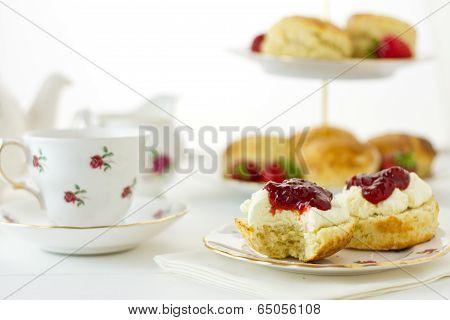 Cream Tea Scene